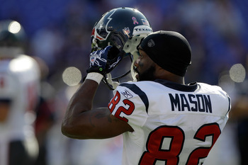 From 2001-2009 Derrick Mason had only one season where he had under 1,000 yards receiving.