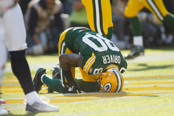 Wide receiver Donald Driver last recorded a 100 yard game was Week 12 of 2009.
