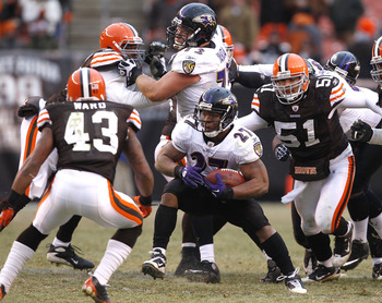 Browns must visit the Ravens on Christmas Eve...(gulp).