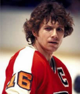 An Iconic Image of the Great Bobby Clarke