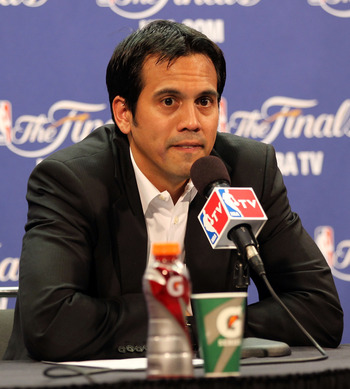 Spoelstra will need to not win the NBA championship to feel secure next summer.