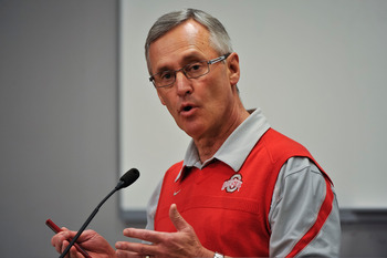 Jim Tressel has an excellent record, however he may prove to be too controversial a hire for Penn State at this time.