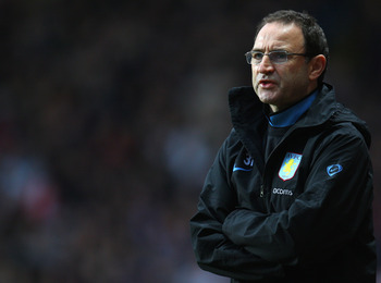 Martin O'Neill was a popular manager for Aston Villa