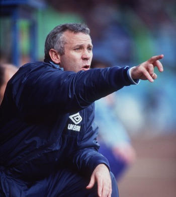 Peter Reid was at the Man City helm in the first year of the EPL