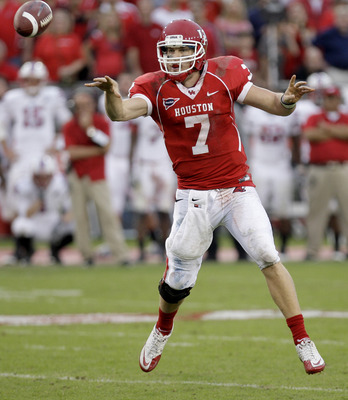 NCAA record-shatterer Case Keenum has led the Cougars to a 12-0 record, making them this year's BCS darling