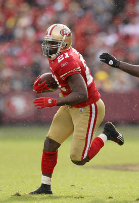 49er running back Frank Gore needs just 91 rushing yards for his fifth 1,000-yard season.