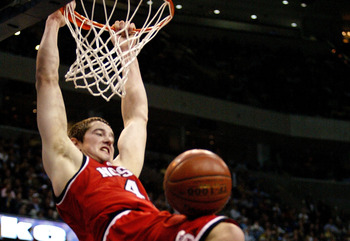 The multi-talented Brackman was also a basketball star at North Carolina State.