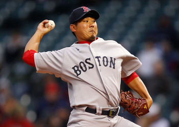 Daisuke could be back from Tommy John surgery by the All-Star break.