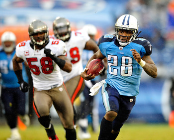 Chris Johnson has rushed for over 150 yards in two straight games