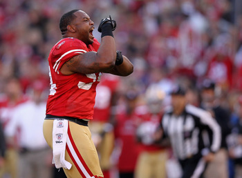 Larry Grant performed well in place of Patrick Willis
