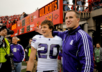 Fitzgerald will try to win Northwestern's first bowl game since the  1948 Rose Bowl
