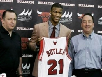 Butler was a great pick, but he is not the answer at two guard.
