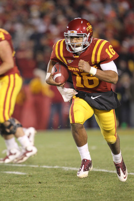 Iowa State wreaked havoc on the BCS by upsetting Oklahoma State.