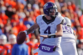 TCU is the only team to beat Boise State.