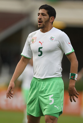 Halliche In Action For Algeria
