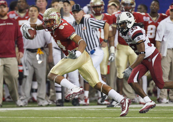 Rodney Smith was FSU's leading WR this season, but several young guns will try to take his job in 2012