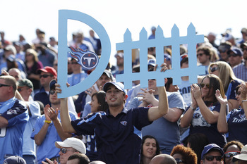 LP Field has been the Titans' 12th man this season.