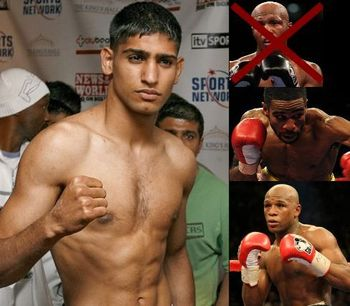 Amir Khan targeting Zab Judah, Lamont Peterson and Floyd Mayweather Jr.