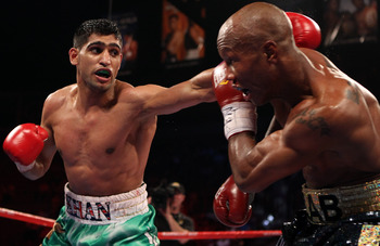 Amir Khan defeating Zab Judah
