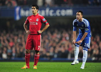 Both Luis Suarez (left) and John Terry (right) were investigated by the FA due to disrespectful actions.