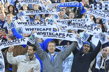 The Vancouver Whitecaps are one of two teams who entered MLS in 2011