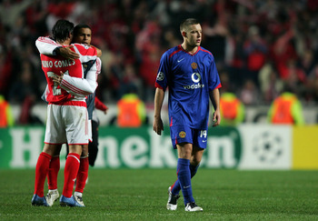 After finishing bottom of their Champions League group in 2005, United came back to win the competition in 2008.