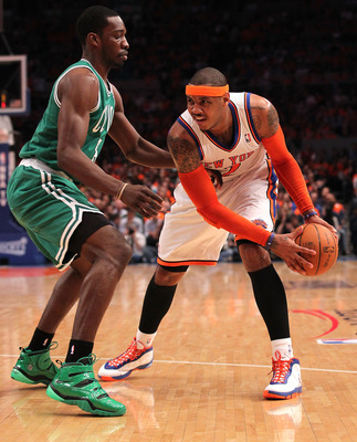 Will Jeff Green even be around to guard Carmelo Anthony by Christmas?