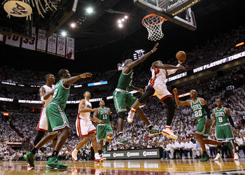This scene from last year's playoffs may well be recaptured in the second game of the C's season.