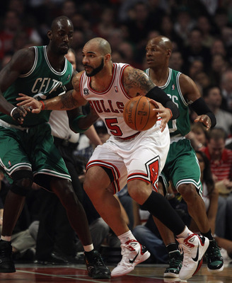 Carlos Boozer, one of the Bulls prime acquisitions last year, isn't as good as what he's making might suggest.