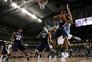 Dwayne Anderson and Danted Cunningham (33) led Villanova to a Sweet 16 and a Final 4 as seniors in 2009.