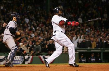 David Ortiz has spent 9 seasons with the Sox, from 2003 to the present.