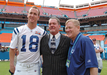 An all-around class act, Manning has been great to the Colts