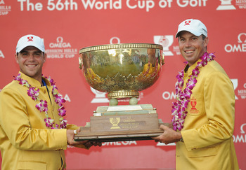Gary Woodland and Matt Kuchar win World Cup