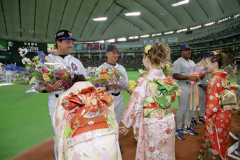 Despite (or perhaps because of) his five years in Japan, Valentine does not seem to be pushing for Darvish.
