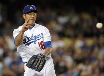 Hiroki Kuroda (3.45 ERA) is the only Japanese pitcher to start forty MLB games and have an ERA of less than 4.24.