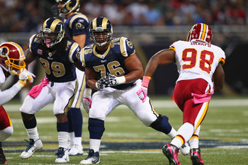 Rodger Saffold, Tackle St. Louis Rams