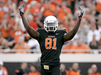 Justin Blackmon, wide receiver Oklahoma State