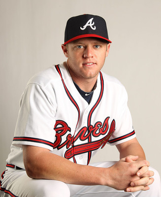Tyler Pastornicky will start at short for the Braves in 2012.