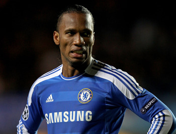 Will Didier Drogba be teamed up with Robbie Keane up top for the Galaxy?