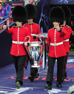 Champions League Trophy - Wembley Final Barcelona vs. Manchester United