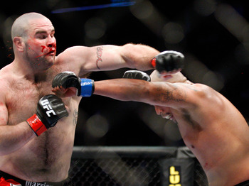 "Joe Rogan stated Beltran""May just have the best chin in the heavyweight division""."
