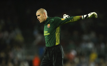 In the opening 25 minutes, Valdes seemed to have slipped back to 2006!