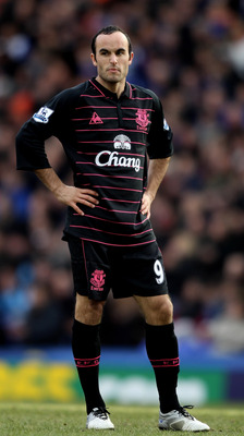 Landon Donovan, On loan at Everton