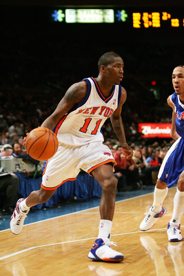 Crawford in his time with the Knicks at Madison Square Garden