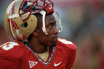 Sadly, a hamstring injury may mean Bert Reed has already played in his last game as a Seminole
