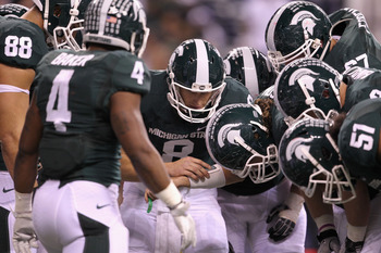 The Spartans lost their conference title game by a hair, and got snubbed from a BCS game, they are out for blood, watch out Georgia