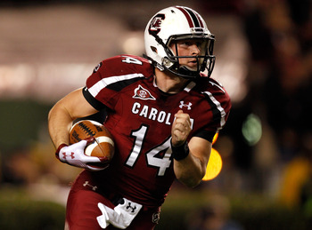 Connor Shaw looks to exploit a very weak Nebraska defense in the Capital One Bowl