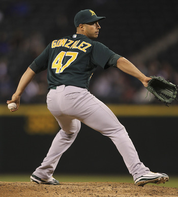 Gonzalez has been a sharp, young lefty for the Oakland A's.