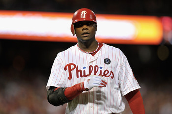 Ryan Howard's injury has dropped him down the list.