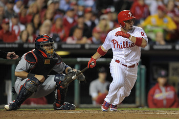 Shane Victorino can do a little of everything in center field.